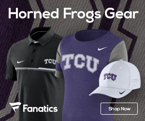 TCU Horned Frogs gear at Fanatics.com