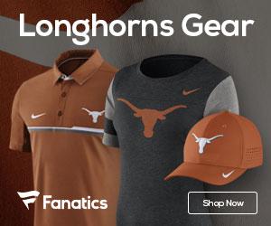 Texas Longhorns gear at Fanatics.com