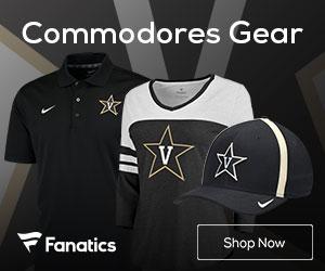 Vanderbilt Commodores gear at Fanatics.com