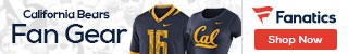 Cal Golden Bears gear at Fanatics.com