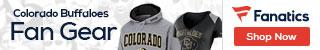 Colorado Buffaloes gear at Fanatics.com