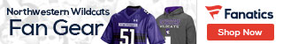 Northwestern Wildcats gear at Fanatics.com