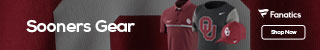 Oklahoma Sooners gear at Fanatics.com