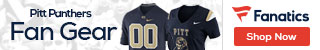 Pitt Panthers gear at Fanatics.com