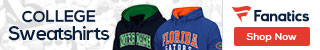 College Sweatshirts at Fanatics.com