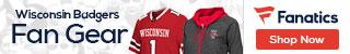Wisconsin Badgers gear at Fanatics.com
