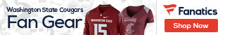 Washington State Cougars gear at Fanatics.com