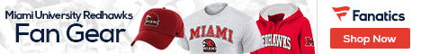 Miami University Redhawks gear at Fanatics.com