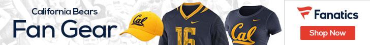 Cal Golden Bears gear at Fanatics.com