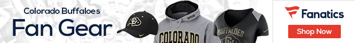 Colorado Buffaloes gear at Fanatics.com