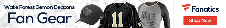 Wake Forest Demon Deacons gear at Fanatics.com