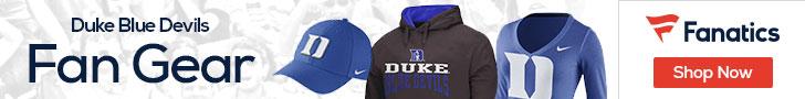 Duke Blue Devils gear at Fanatics.com