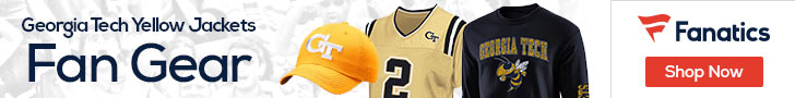 Georgia Tech Yellow Jackets gear at Fanatics.com