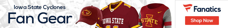Iowa State Cyclones gear at Fanatics.com