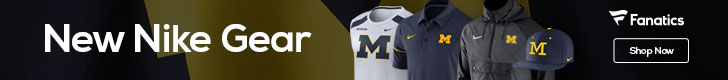 Michigan Wolverines Jordan Brand/Nike fan gear at Fanatics.com