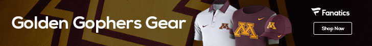Minnesota Golden Gophers gear at Fanatics.com