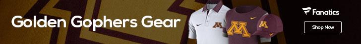 Minnesota Golden Gophers gear at Fanatics.com