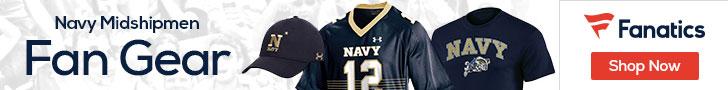 Navy Midshipmen gear at Fanatics.com