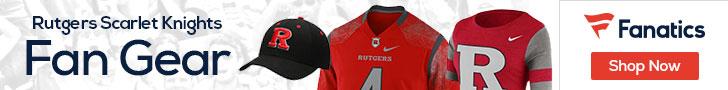 Rutgers Scarlet Knights gear at Fanatics.com
