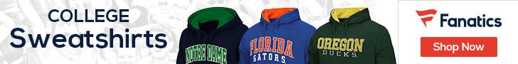College Sweatshirts at Fanatics.com
