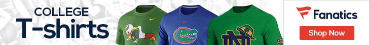 College T-shirts at Fanatics.com