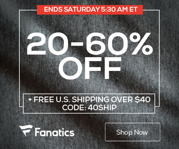 7237ee69e3b Big Savings for Big Fans at Fanatics.com