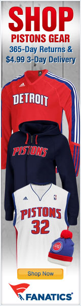 Shop for Official Detroit Pistons Team Gear at Fanatics!