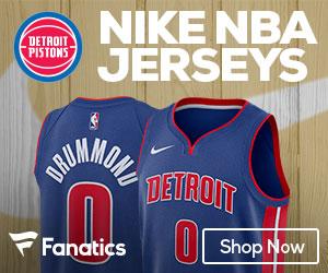 Detroit Pistons 2017-2018 Nike Jerseys