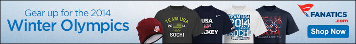 Shop 2014 Winter Olypmics Team USA gear at Fanatics
