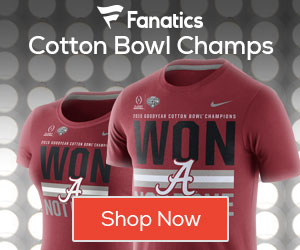 Alabama Crimson Tide Cotton Bowl Champs