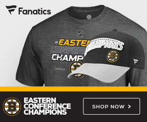 Boston Bruins Eastern Conference Champs Gear