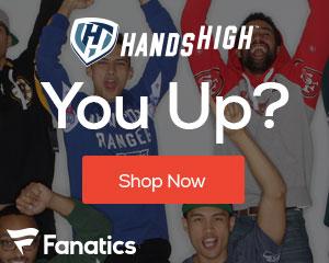 Hands High gear from Fanatics.com