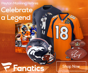Peyton Manning Retirement Gear