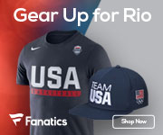 Gear up for the 2016 Rio Olympics with Team USA Gear from Fanatics
