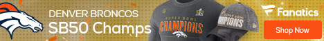 Denver Broncos Super Bowl Championship Gear