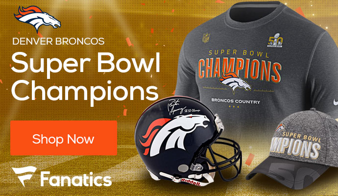Denver Broncos Super Bowl Championship Gear