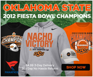 Shop for Oklahoma State Fiesta Bowl Champs Gear