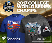 Florida Gators 2017 College World Series Champs Gear