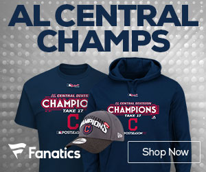 Cleveland Indians AL Central Champs Gear