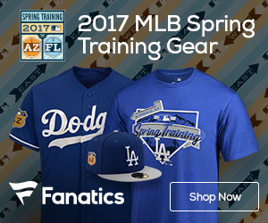Shop for Los Angeles Dodgers Spring Training Gear at Fanatics.com