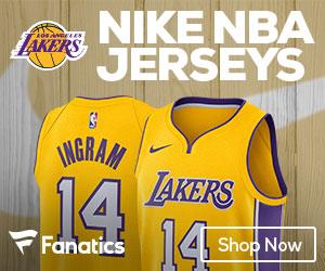 Los Angeles Lakers 2017-2018 Nike Jerseys