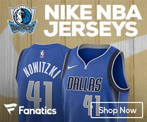 Dallas Mavs 2017-2018 Nike Jerseys