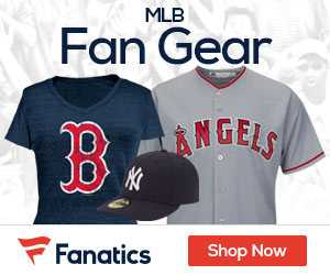 MLB gear at Fanatics.com