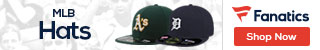 MLB hats at Fanatics.com