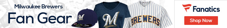 Milwaukee Brewers Gear at Fanatics.com