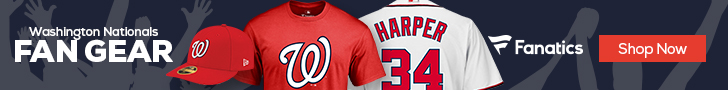 Washington Nationals gear at Fanatics.com