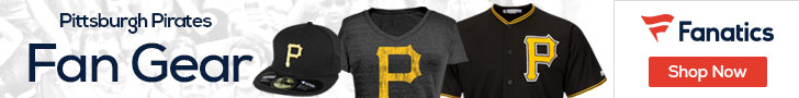 Pittsburgh Pirates gear at Fanatics.com
