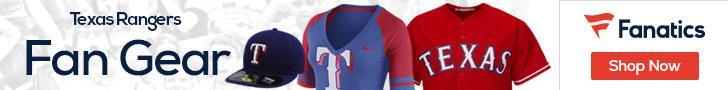 Texas Rangers gear at Fanatics.com