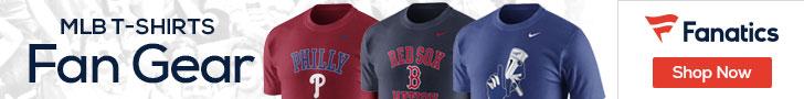 MLB T-shirts at Fanatics.com