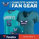 Shop Charlotte Hornets Gear at Fanatics.com